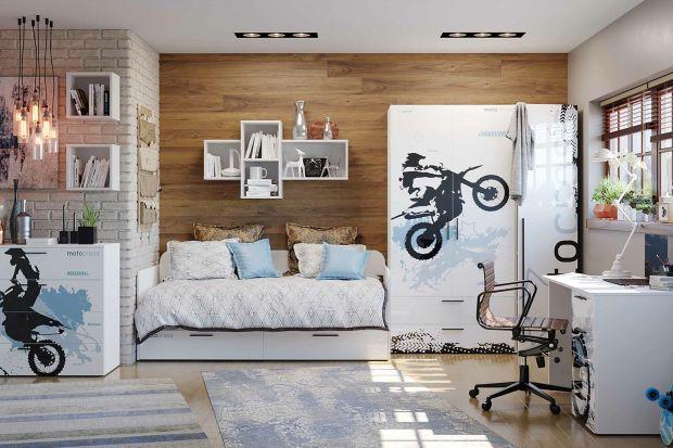 Pokój nastolatka - świetne meble dla młodego fana motoryzacji