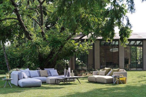 Nowoczesne, piękne, lekkie.Meble ogrodowe Flexform charakteryzują się tym samym zrównoważonym smakiem i ponadczasową elegancją, jak te do wnętrz.