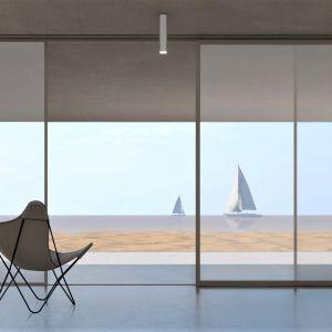 Wnętrze w minimalistycznym stylu. Projekt: pracownia Core