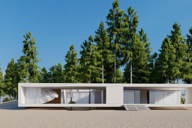 Sand house to wakacyjny dom nad polskim morzem. Został zaprojektowany w minimalistycznym stylu, dzięki czemu idealnie wtapia się w piękny krajobraz plaży.<br /><br />