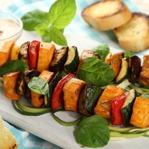 Szaszłyki z warzywami. Fot. Knorr