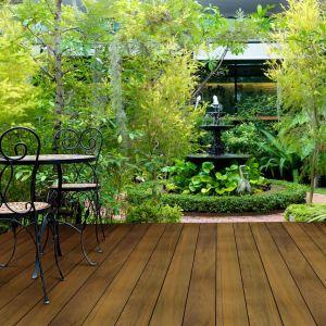 Deski tarasowe z drewna IPE. Fot. DLH