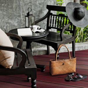 Deski tarasowe z drewna massaranduba. Fot. DLH