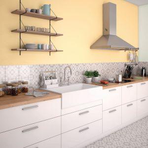 Ściany w kuchni pomalowano farbą Beckers Designer Kitchen & Bathroomw kolorze Comfort. Fot. Beckers
