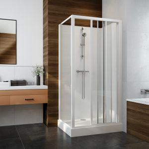 Zaletą serii kabin prysznicowych Basic Complete jest duża różnorodność modeli. Fot. Sanplast