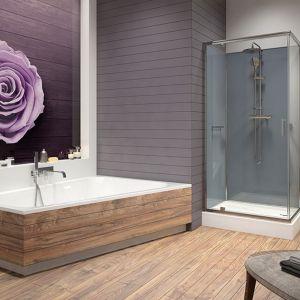 Uniwersalny design kabiny będzie harmonijnie komponował się zarówno z nowoczesnym, jak i tradycyjnie urządzonym pomieszczeniem. Fot. Sanplast