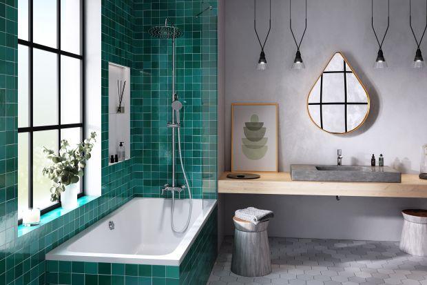 """Najlepiej jeśli w łazience możemy mieć zarówno wanną, jak i prysznic. Nie zawsze jest pozwala na to wielkość i układ pomieszczenia. Jeśli więc brakuje nam miejsca na osobne strefy użytkowe, możemy pokusić się o praktyczne rozwiązanie """"dw"""