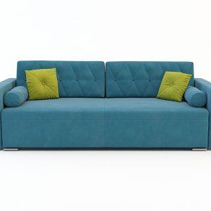 Sofa Belisa dzięki swoje kolorystyce estetycznie wkomponuje się w nowoczesny salon. Fot. Salony Agata