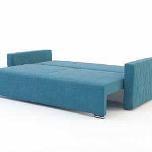 Sofa posiada funkcję spania. Fot. Salony Agata