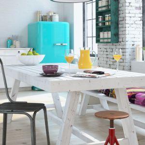 Kolor biały w kuchni. Fot. Tikurilla