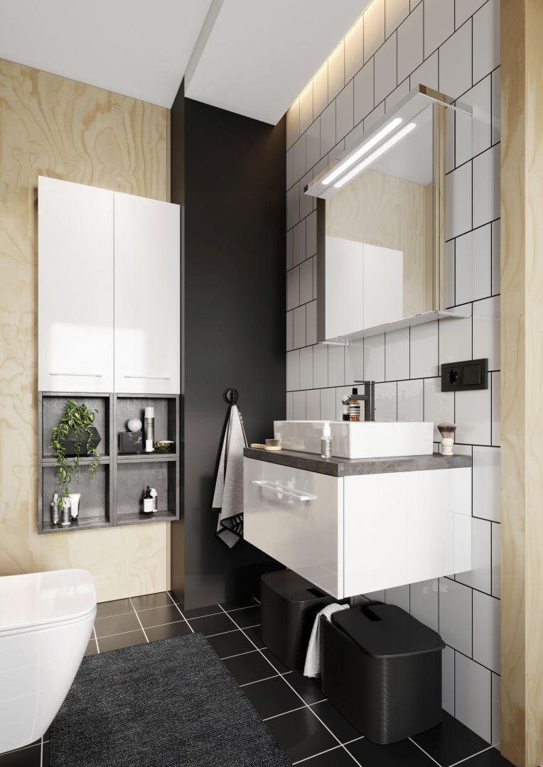 Kolekcja mebli łazienkowych Metro System. Fot. NAS