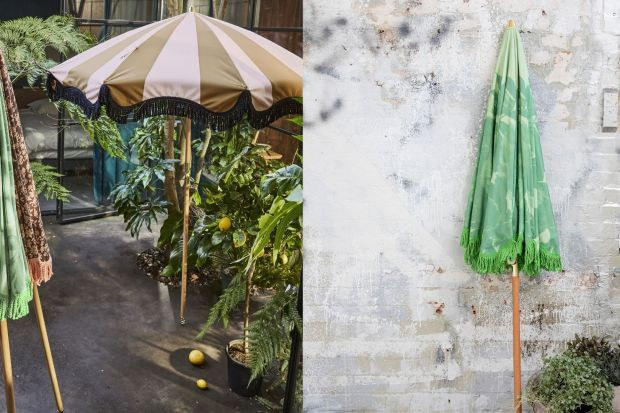 Parasol przeciwsłoneczny przyda się w każdym ogrodzie. Warto jednak poszukać stylowego modelu, w modnych kolorach, który będzie piękne wyglądał w przydomowej aranżacji.<br /><br />