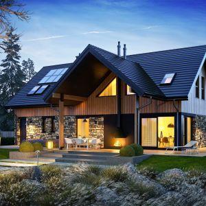 Dom świetnie integruje się z otoczeniem. Projekt: pracownia Archipelag