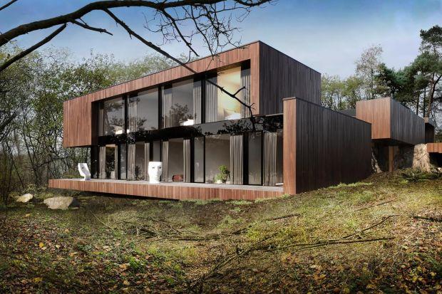 Projekt tego wyjątkowego domu pięknie wpisuje się w otoczenie w zastany lasy i głazy.Powstał z poszanowaniem tego co stworzyła natura.RE: On The Rock Houseto najnowszy projekt architekta Marcina Tomaszewskiego z pracowni REFORM Architekt.