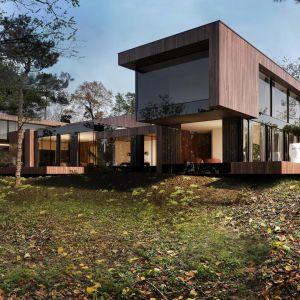 Pojedyncze budynki, niczym boksy – dają wrażenie zupełnie osobnych elementów. Projekt: Marcin Tomaszewski, REFORM Architekt