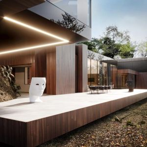 RE: On The Rock House. Projekt: Marcin Tomaszewski, REFORM Architekt