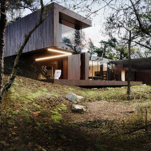 Dom RE: On The Rock House ma powierzchnię 650 m². Projekt: Marcin Tomaszewski, REFORM Architekt