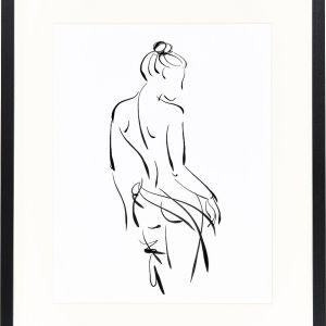 Oprawiony druk cyfrowy Naked Woman, 379,90 zł, WestwingNow.pl
