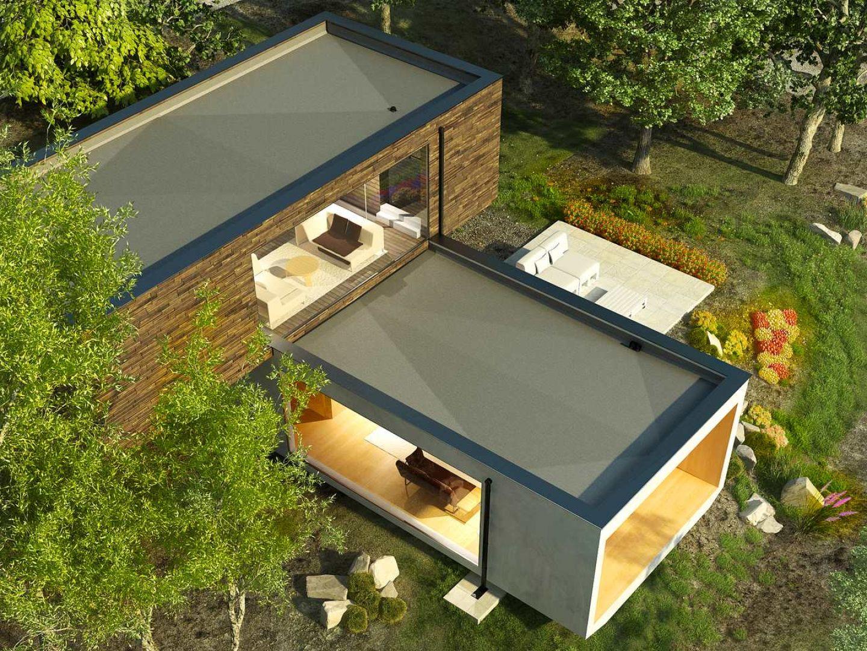 Zielony dach stanowi doskonałą izolację akustyczną i termiczną. Fot. Galeco