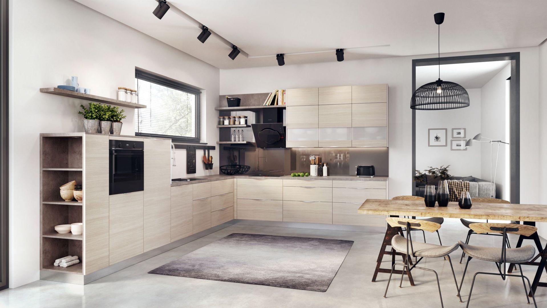 W trosce o zdrowie i trwałość zabudowy kuchennej warto zainteresować się również technologią klejenia obrzeży meblowych. Fot. KAM