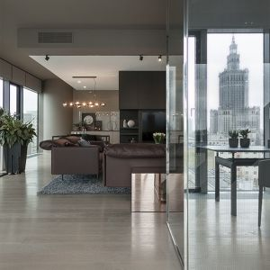 Luksusowy apartament w centrum Warszawy. Projekt wnętrza: de novo. Zdjęcia: Kinga Wysocka, de novo