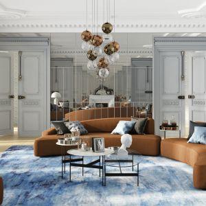 Sofa MOON marki Absynth. Ten księżycowy model zaskakująco dobrze wpisuje się nie tylko we wnętrza nowoczesne czy loftowe, ale także te klasyczne i eleganckie.