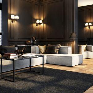 Dla wielbicieli rozłożystych siedzisk i minimalistycznych wnętrz najlepsze będą natomiast zestawy modułowe sof NOI o prostych kształtach, bez dodatkowych dekoracji, takich jak pikowanie czy oparcia w kształcie poduszek.