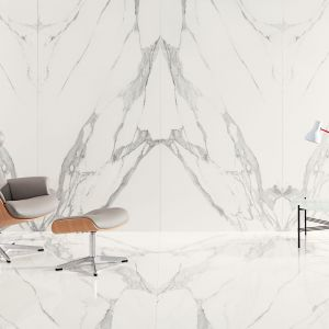 Kolekcja Specchio Carrara, Tubądzin kreacja Maciej Zień, fot. Tubądzin