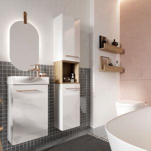 Kolekcja Metro System meble łazienkowe