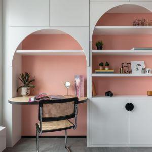 Formy nawiązują do szkoły Bauhausu. Realizacja i zdjęcia: KODO Projekty i Realizacje Wnętrz