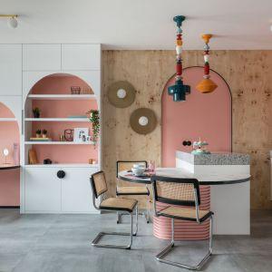 Eklektyczne wnętrze w stylu Bauhausu. Realizacja i zdjęcia: KODO Projekty i Realizacje Wnętrz