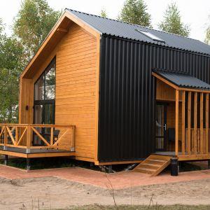 Małe domy na zgłoszenie do 35 metrów to coraz popularniejsze rozwiązanie.
