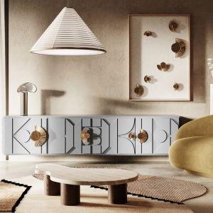 Mosiężne uchwyty/dekoracje ścienne ArtSun dostępne w 3 rozmiarach; od 190 zł | ArtCollection. Fot. mat. prasowe Pap Deco