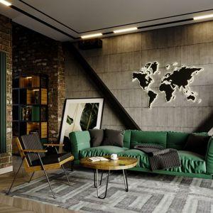Grzejnik pokojowy Columnus, idealny do salonu w loftowym stylu. Fot. Luxrad