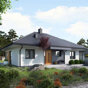 Mini 1 G1 to dom, który jest szybki i tani w realizacji. Projekt: pracownia Archipelag