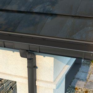Rynny mogą być wykonane z rozmaitych surowców. Od lat prym wiodą jednak te ze stali oraz tworzywa PVC. Fot. Galeco
