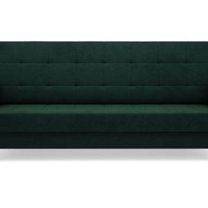Wnętrze w stylu nowoczesnym można przełamać za pomocą efektownej, pikowanej sofy, wiktoriańskiego stołu czy fotela w stylistyce lat 70. i 80. Fot. Salony Agata