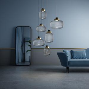 Lampy wiszące z kolekcji Legier. Fot. Galeria Wnętrz Domar/Ekoform