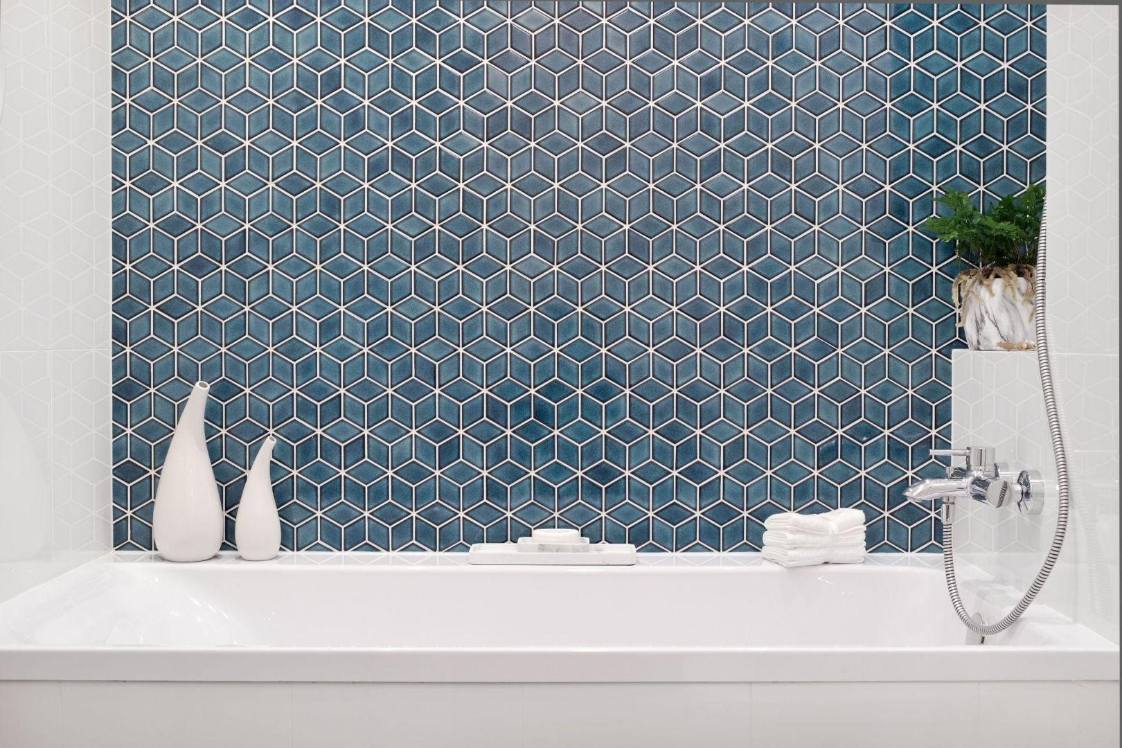 Mozaika Diamond powstała z inspiracji stylem art deco, Fot. Raw Decor