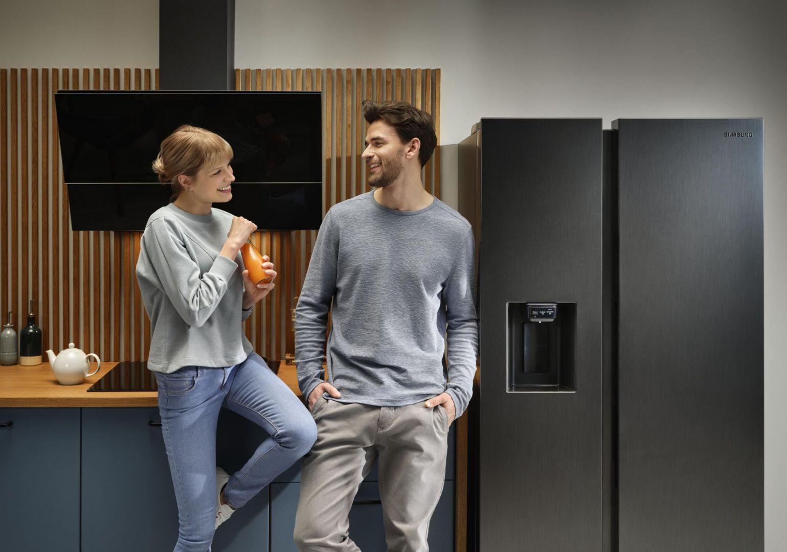 Optymalne warunki do przechowywania są bardzo ważne, ale oprócz tego ankietowani zwracają uwagę także na przestrzeń wewnątrz urządzenia. Fot. Samsung