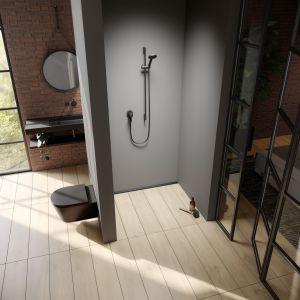 Nowoczesna łazienka z odpływem prysznicowym TECEdrainline. Fot. TECE