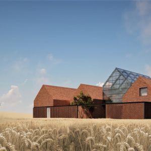 Farm House to dom zaprojektowany dla rodziny nowoczesnych rolników, otoczony polami uprawnymi. Projekt: pracownia Core