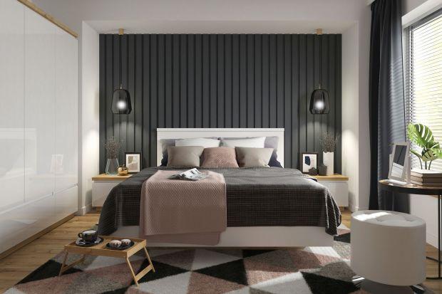 Szukasz mebli do sypialni? Polecamy kolekcję Erla. Jest prosta i nowoczesna. Połączenie białych, lustrzanych frontów zjasnym wybarwieniem dębuprezentuje się modnie i stylowo.