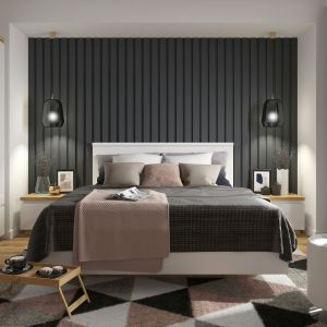 Meble do sypialni z kolekcji Erla wyróżnia niebanalny design i solidna konstrukcja. Fot. Black Red White