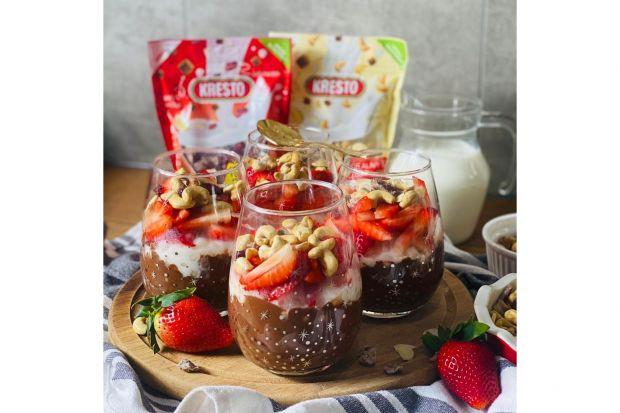 Słodki pudding na bazie tapioki to pyszna i zdrowa alternatywa dla tradycyjnego budyniu. Idealnie sprawdzi się jako popisowy deser lub niedzielne śniadanie.