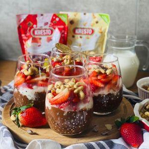 Słodki pudding na bazie tapioki. Fot. VOG Polska