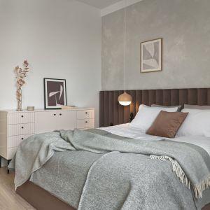 Jej wygląd, a przede wszystkim wygląd zagłówka, będzie decydować o stylu i charakterze sypialni. Projekt Studio Inbalance Fot. Tom Kurek