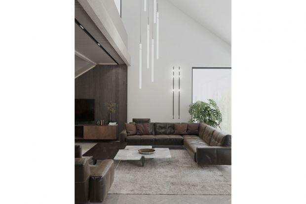 Dom został zaprojektowany dla pięcioosobowej rodziny. Wnętrze jest nowoczesne i przytulne zarazem. Dominują w nim naturalne materiały takiejak drewno i kamień. Bardzo funkcjonalnie i wygodnie został też zaplanowany układ pomieszczeń.