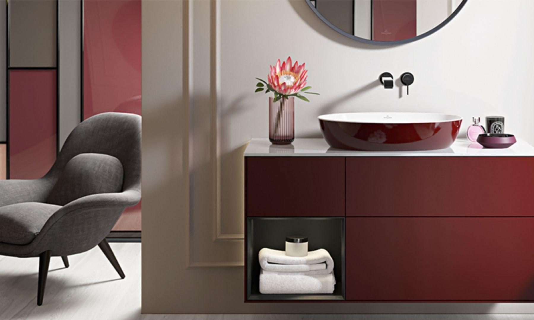 Kolekcja Artis BiColour od Villeroy & Boch pozwoli zachować spójność kolorystyczną w łazience. Fot. Villeroy & Boch