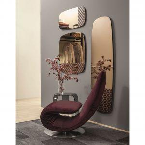 Fotel z kolekcji Ricciolo firmy Interno Italiano. Fot. Interno Italiano/Galeria Wnętrz Domar